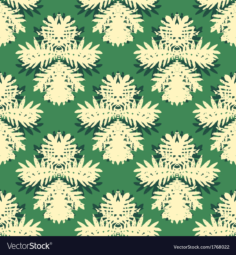 Pattern with damask motifs vector   Price: 1 Credit (USD $1)