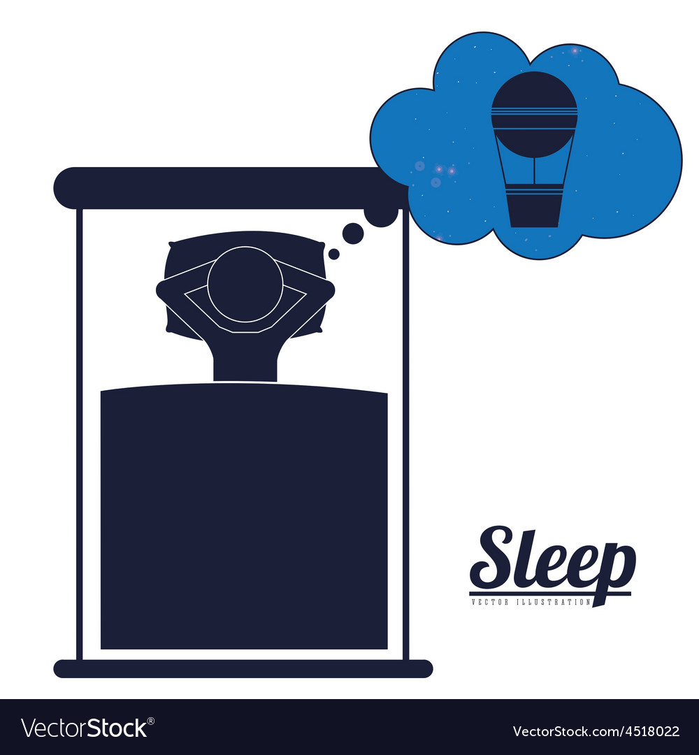 Sleep design vector | Price: 1 Credit (USD $1)