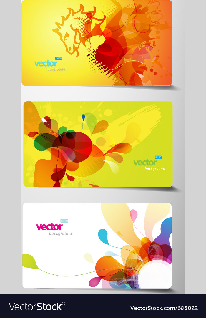 Splash gift cards vector | Price: 1 Credit (USD $1)