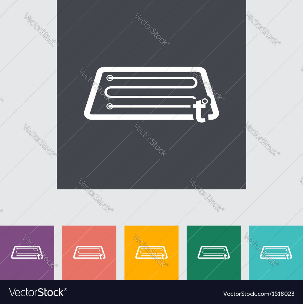 Heating automotive glass vector | Price: 1 Credit (USD $1)