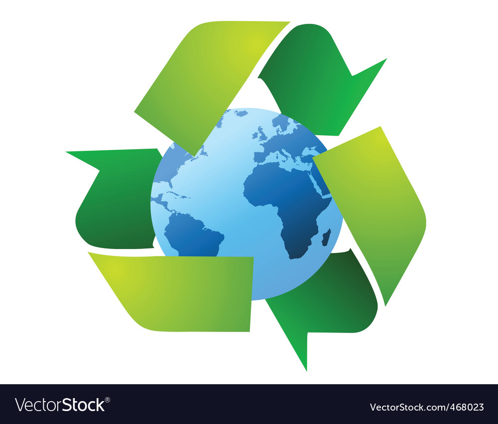 World recycle vector | Price: 1 Credit (USD $1)