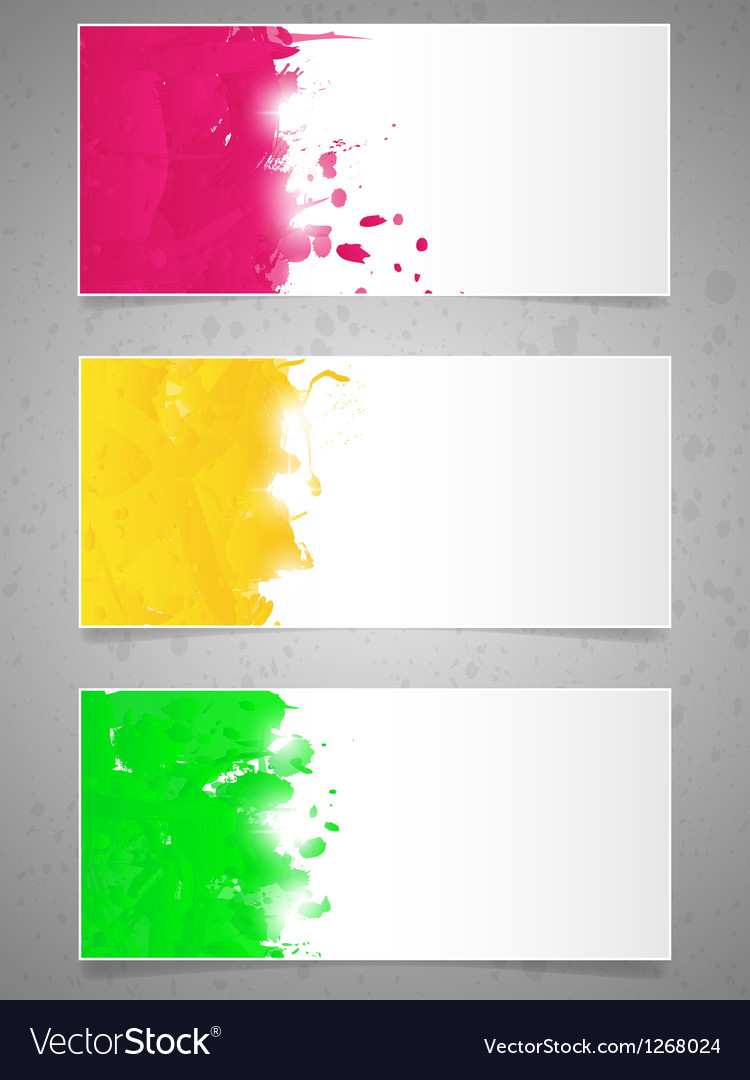Abstract background with paint splashes vector | Price: 1 Credit (USD $1)