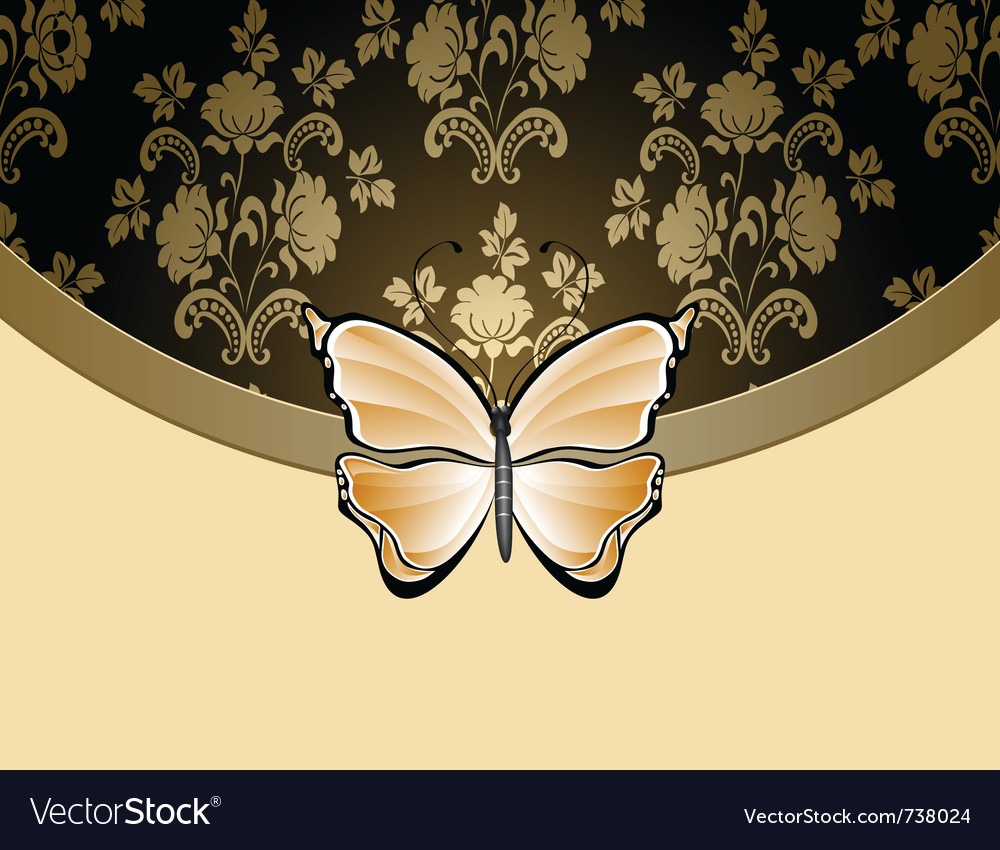 Beige flower background vector | Price: 1 Credit (USD $1)