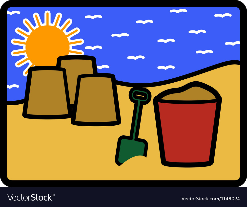Bucket spade vector | Price: 1 Credit (USD $1)