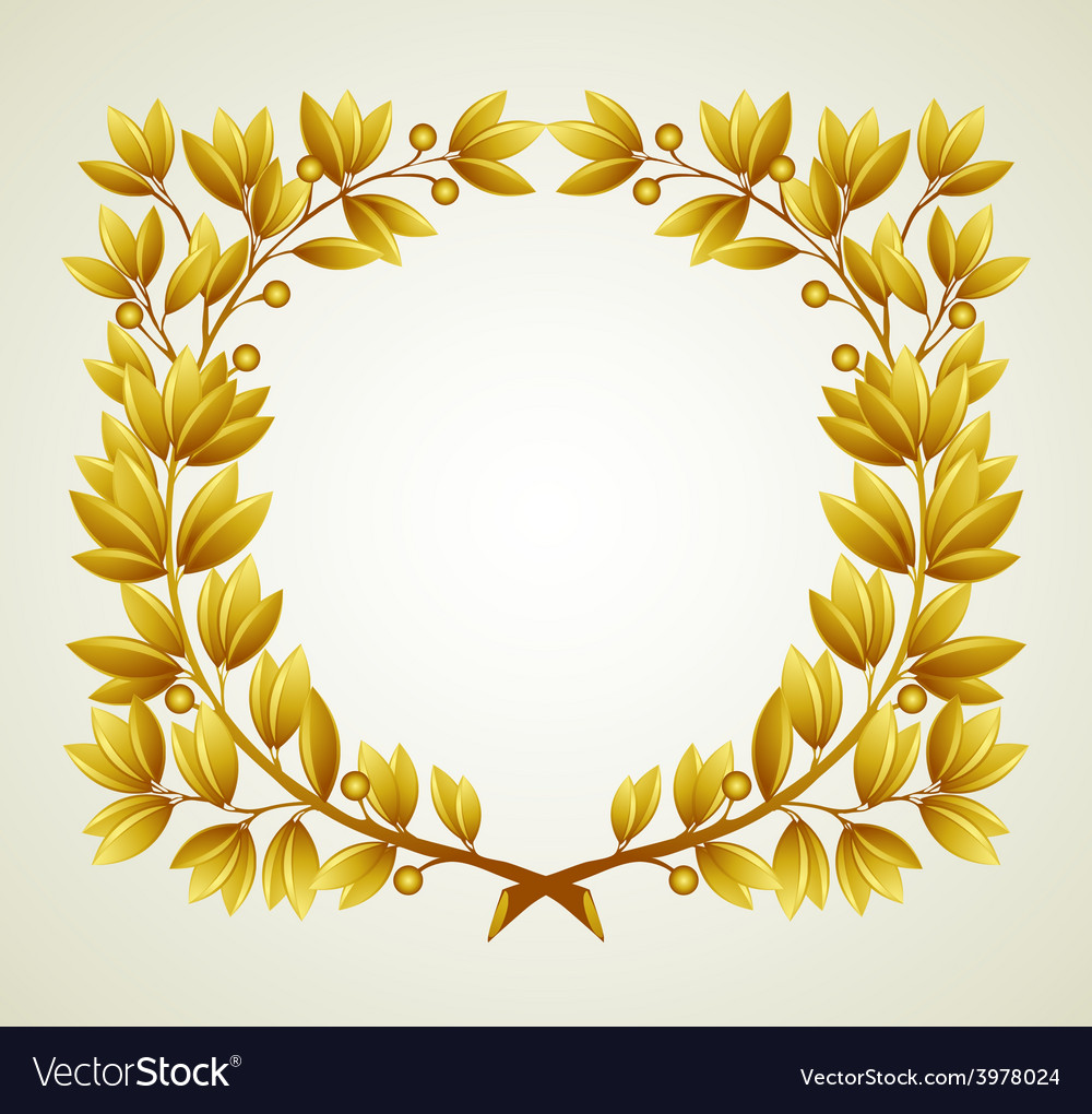 Laurel branch vector | Price: 3 Credit (USD $3)