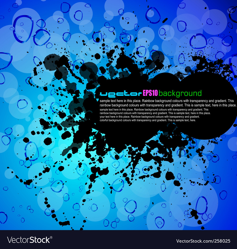 Grunge liquid vector | Price: 1 Credit (USD $1)
