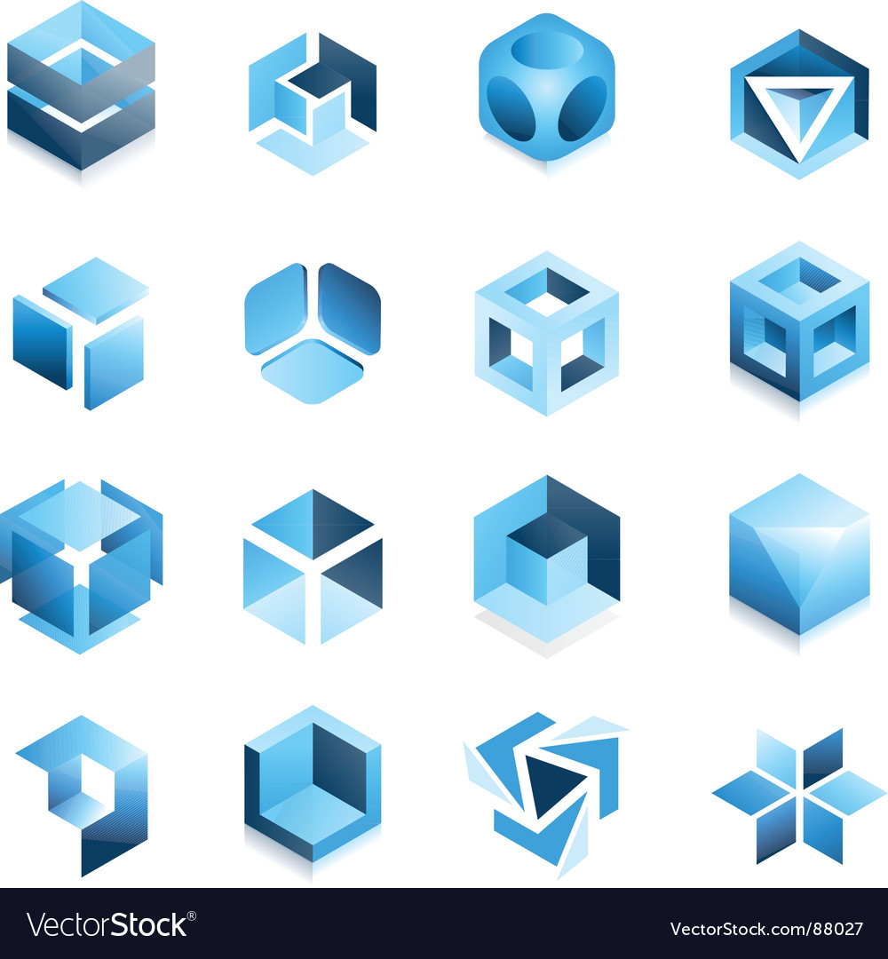 Cube devices vector | Price: 1 Credit (USD $1)