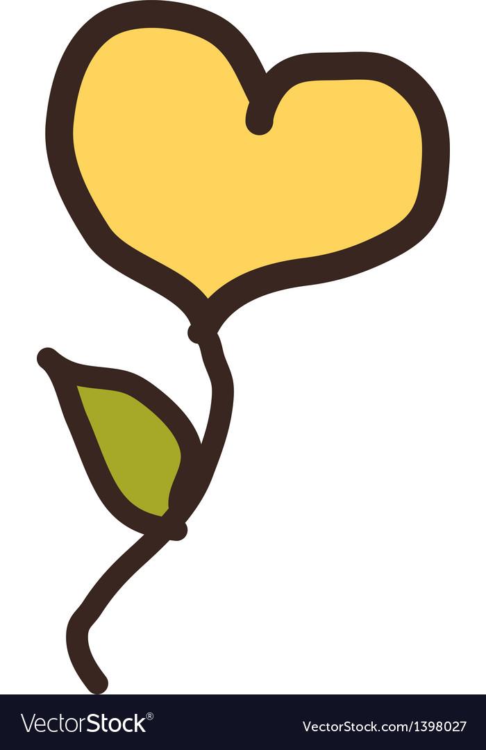 Icon heart vector | Price: 1 Credit (USD $1)