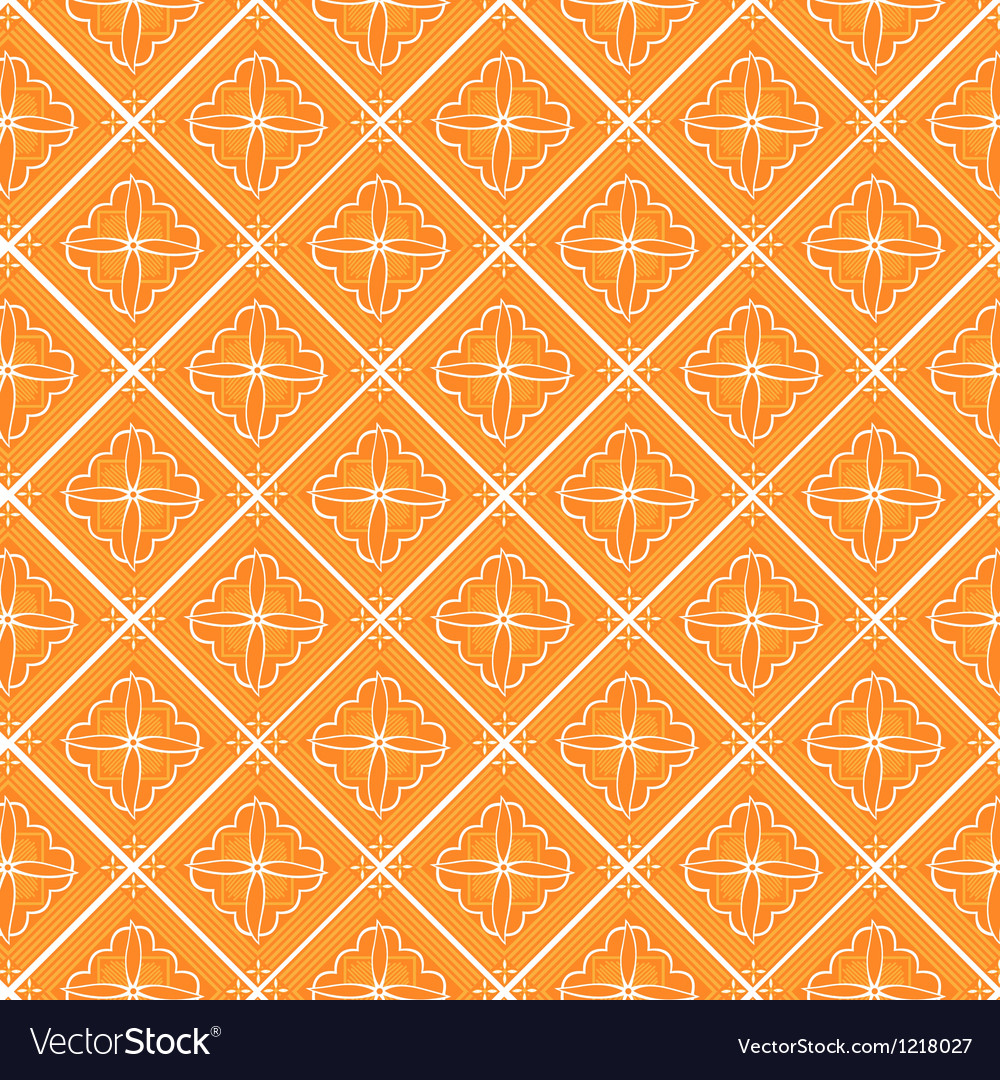 Javanese floral pattern vector | Price: 1 Credit (USD $1)