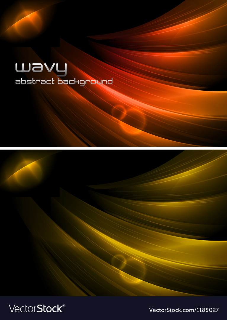 Wavy abstract background vector | Price: 1 Credit (USD $1)