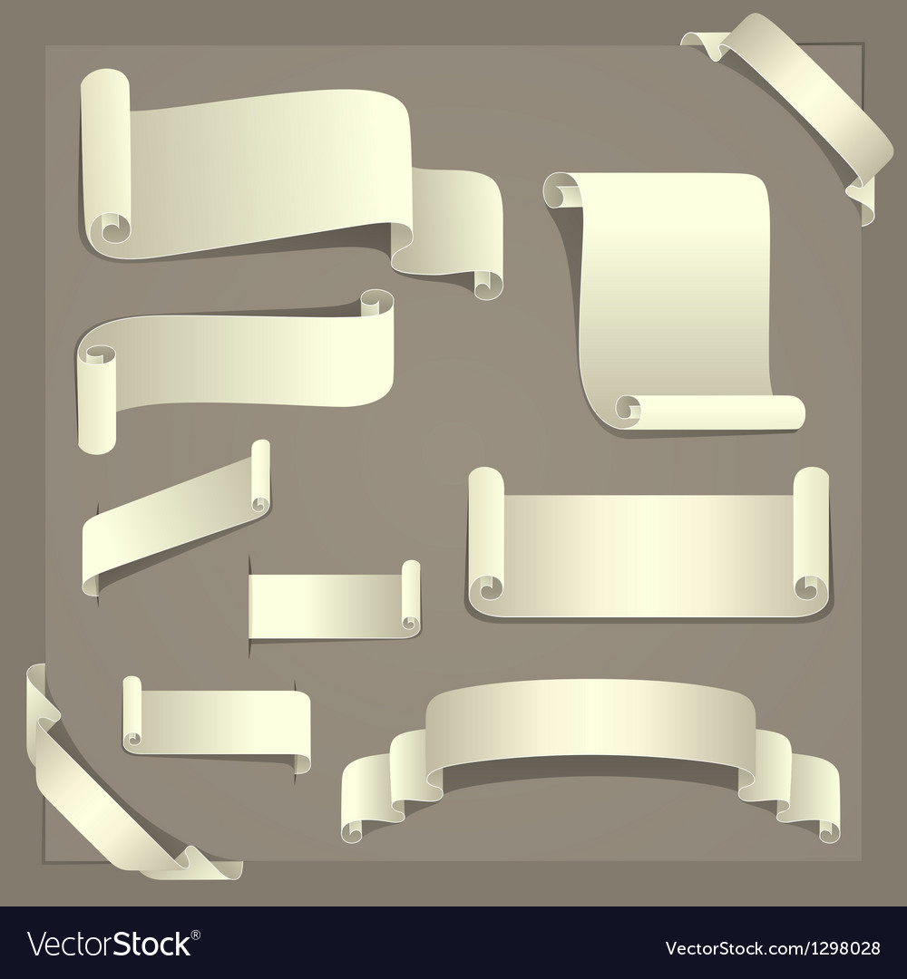 Paper design elements vector | Price: 1 Credit (USD $1)