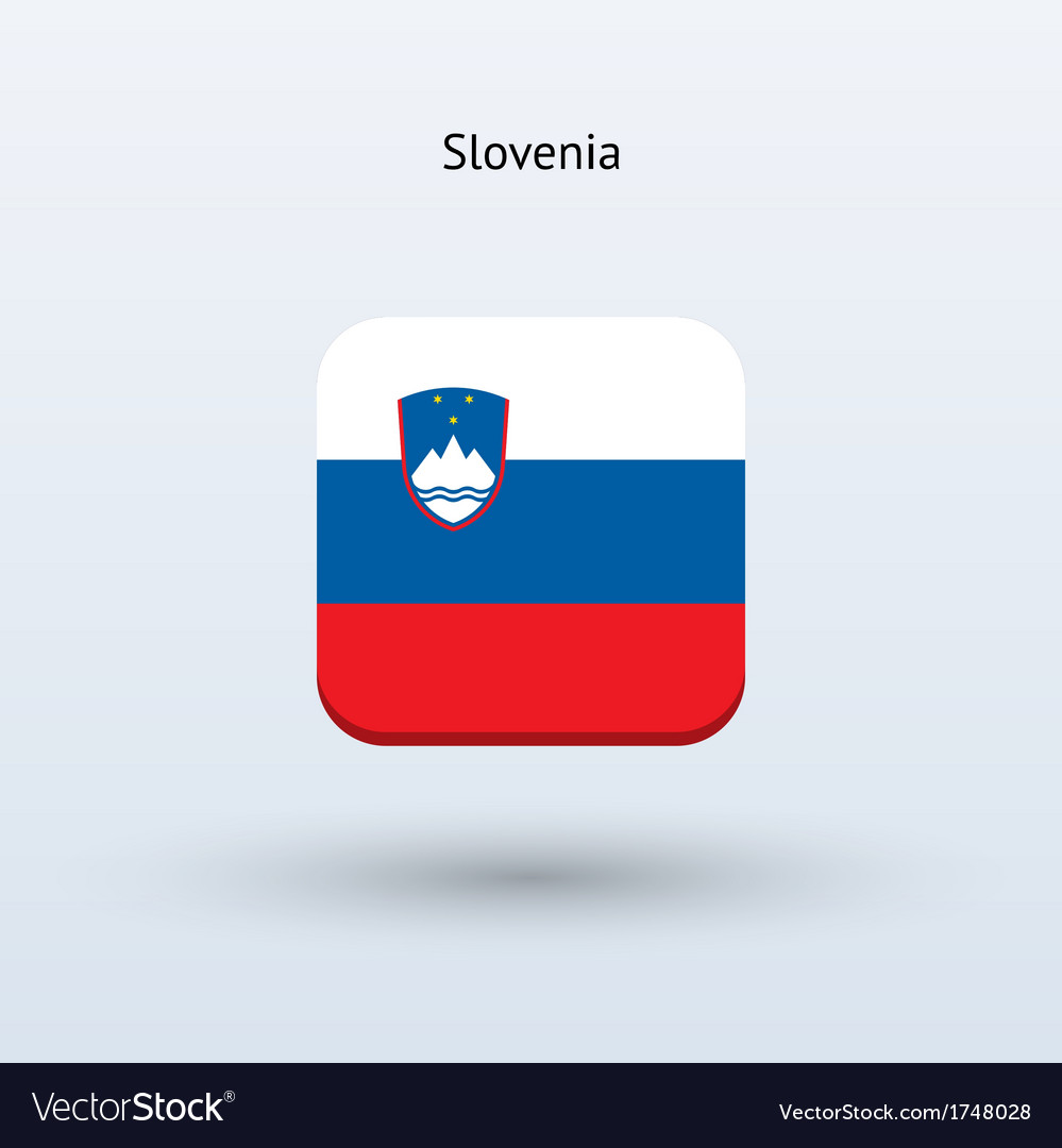 Slovenia flag icon vector | Price: 1 Credit (USD $1)