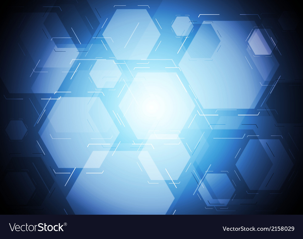 Dark blue tech backdrop vector | Price: 1 Credit (USD $1)