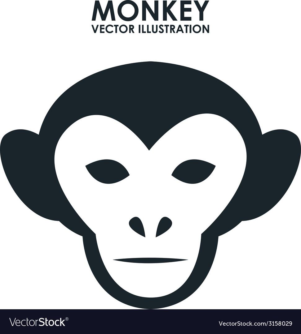 Monkey design vector | Price: 1 Credit (USD $1)