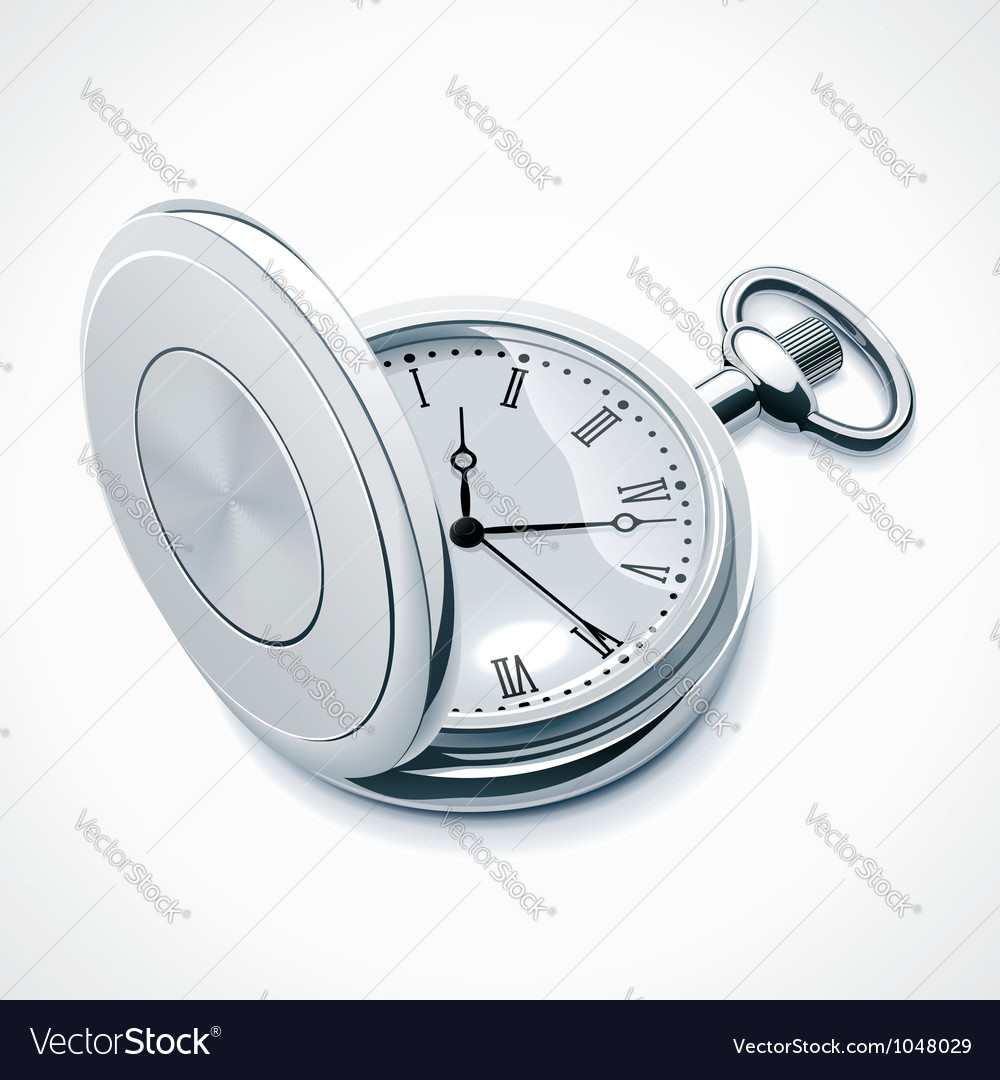 Pocket watch vector | Price: 3 Credit (USD $3)