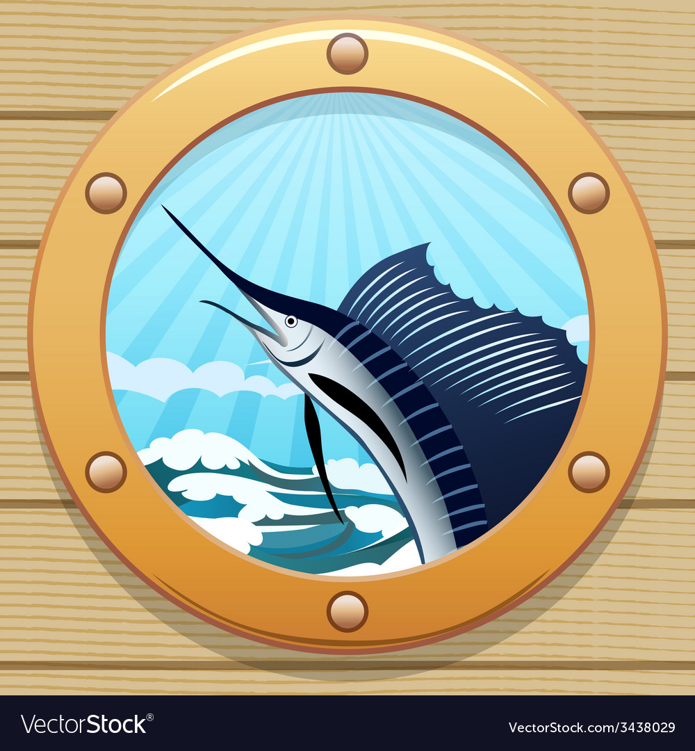 Sail fish vector | Price: 3 Credit (USD $3)