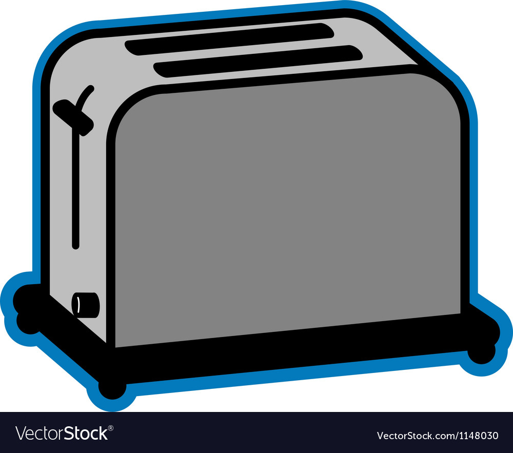 Basic toaster vector | Price: 1 Credit (USD $1)