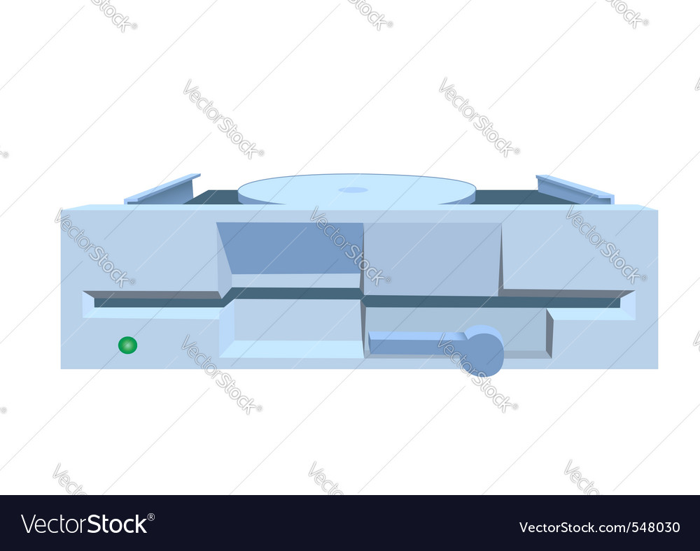Floppy drive vector | Price: 1 Credit (USD $1)