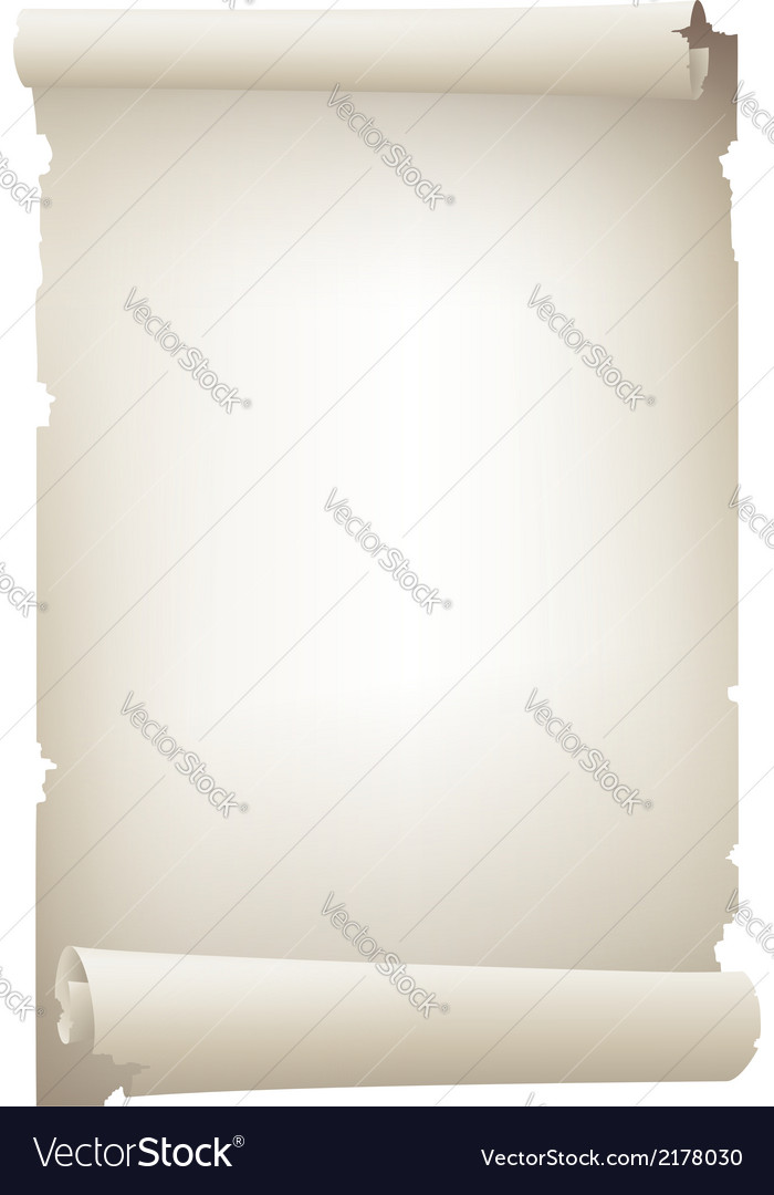 Scroll paper banner vector   Price: 1 Credit (USD $1)