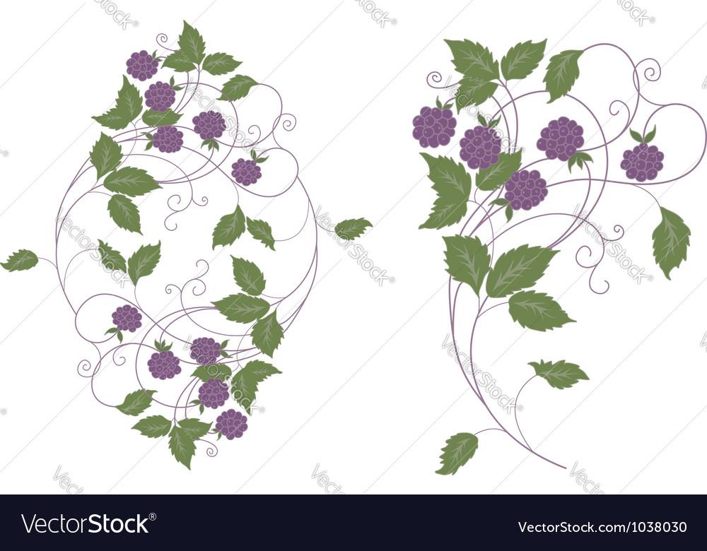 Wood berries vector | Price: 1 Credit (USD $1)