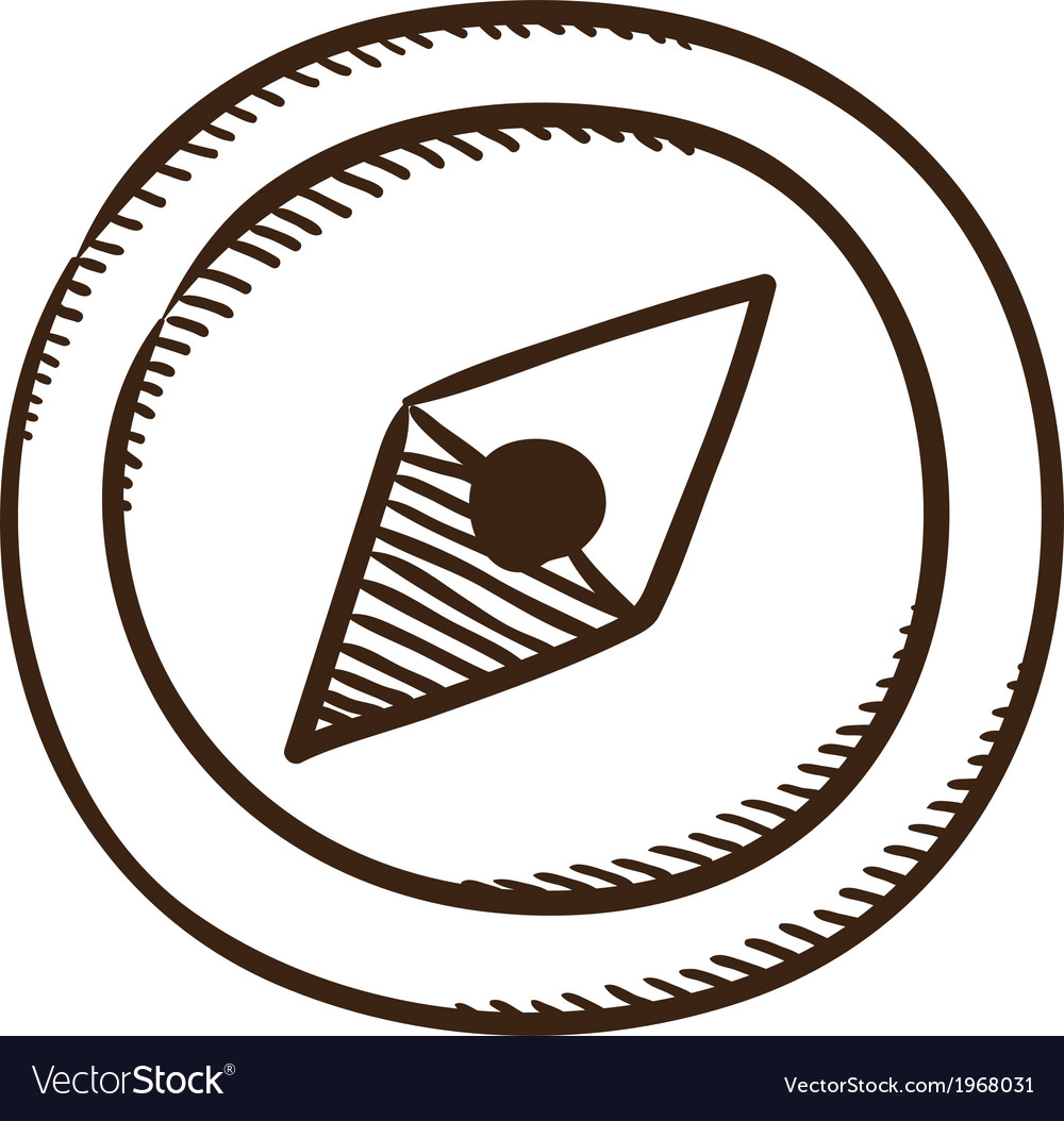 Compass symbol vector | Price: 1 Credit (USD $1)