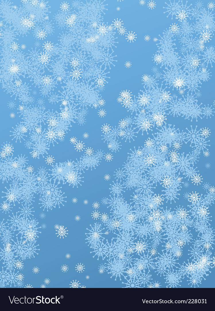 Snowy background vector | Price: 1 Credit (USD $1)