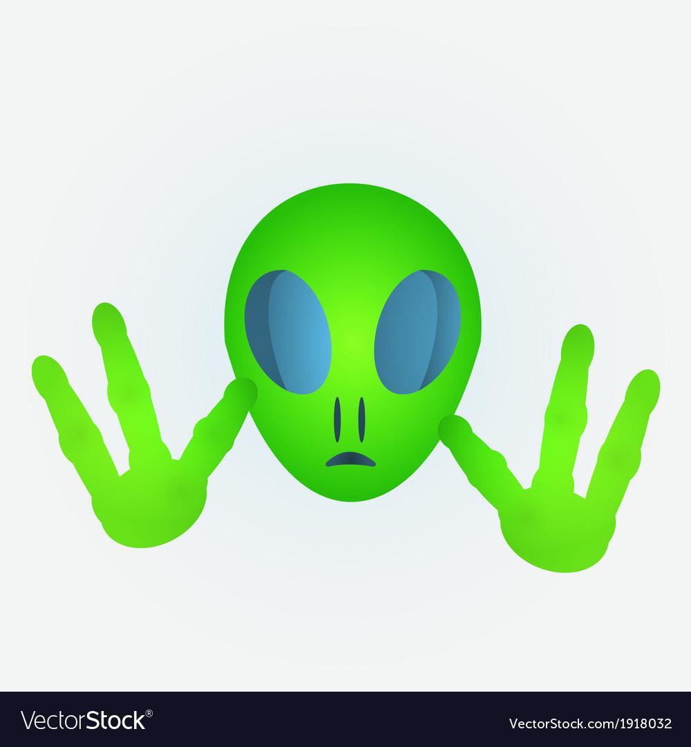 Alien vector | Price: 1 Credit (USD $1)