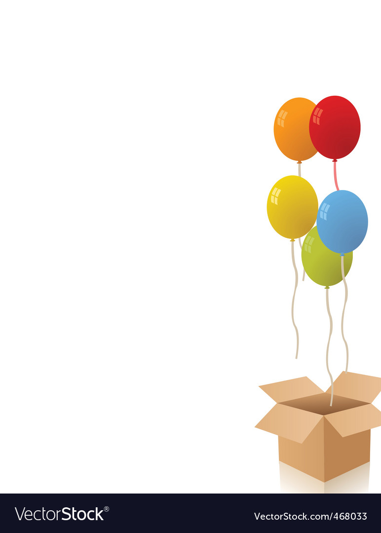 Birthday box vector | Price: 1 Credit (USD $1)