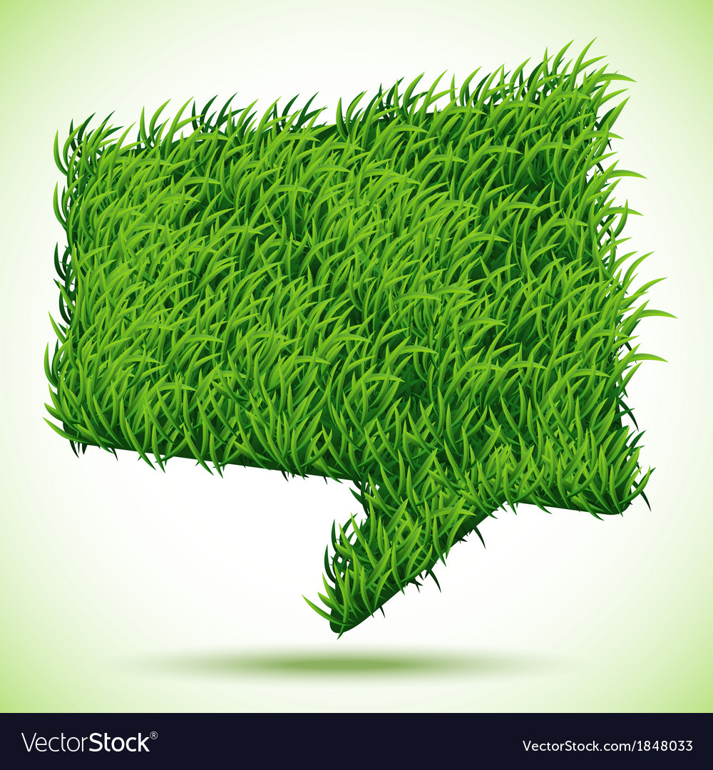 Bubble green grass texture vector | Price: 1 Credit (USD $1)