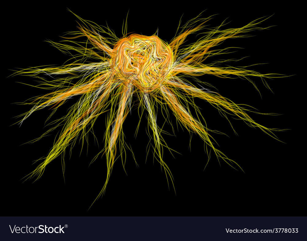 Cancer cell vector | Price: 1 Credit (USD $1)