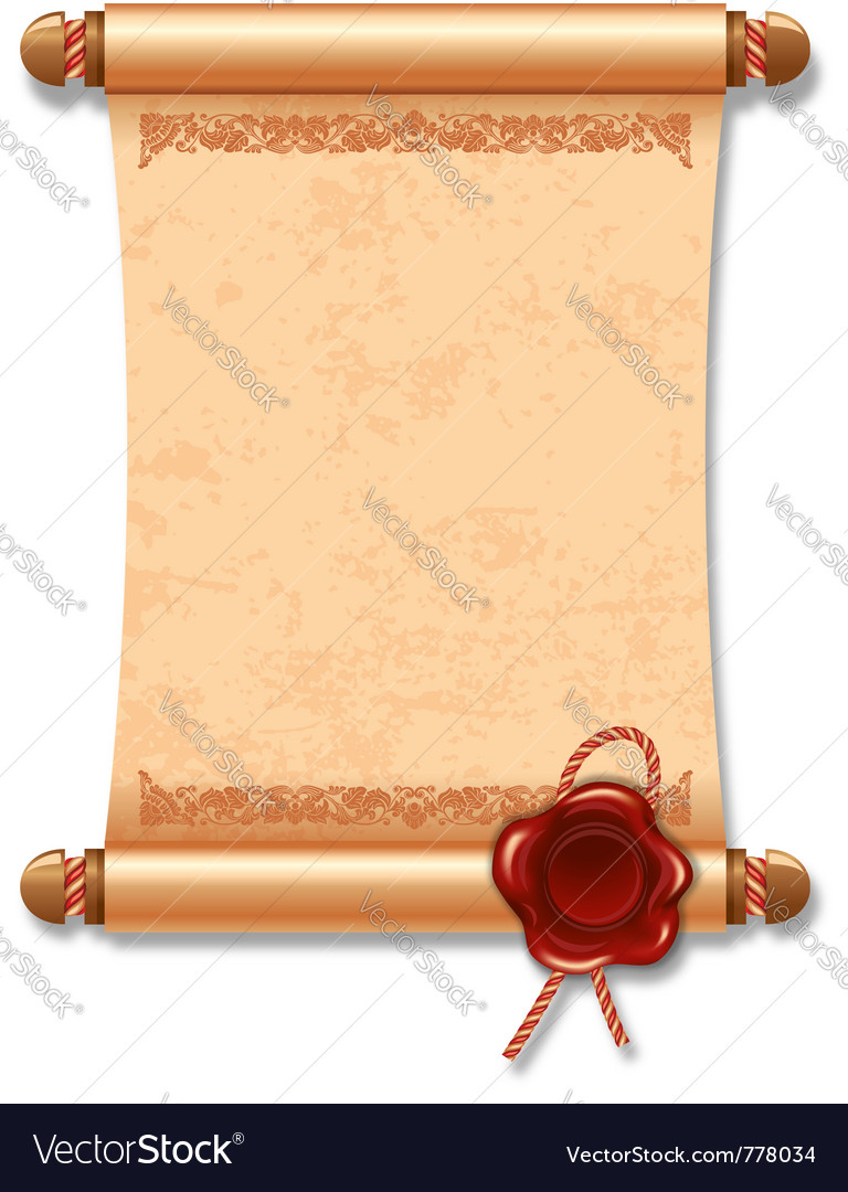 Ancient manuscript vector | Price: 3 Credit (USD $3)