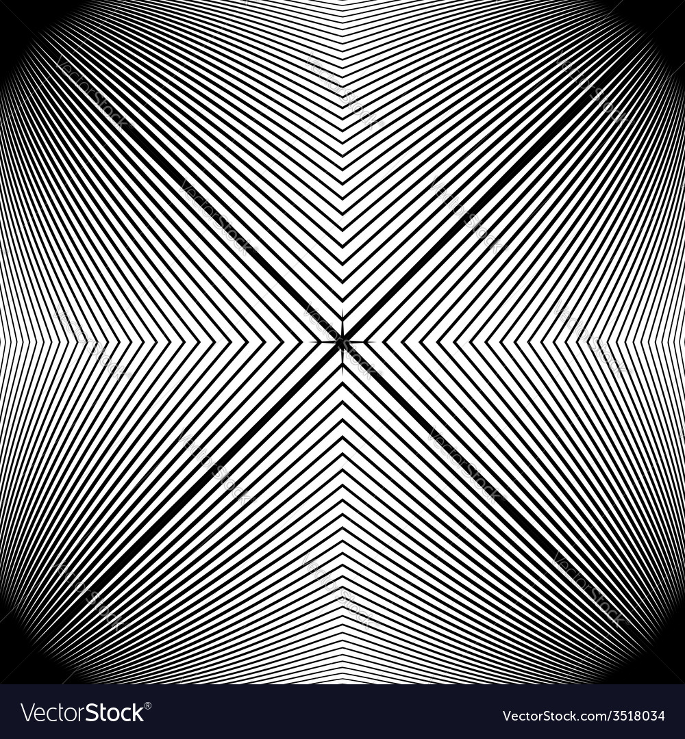 Design monochrome stripy geometric pattern vector | Price: 1 Credit (USD $1)