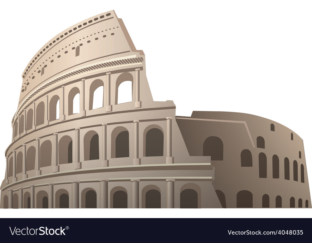 Coliseum vector | Price: 5 Credit (USD $5)
