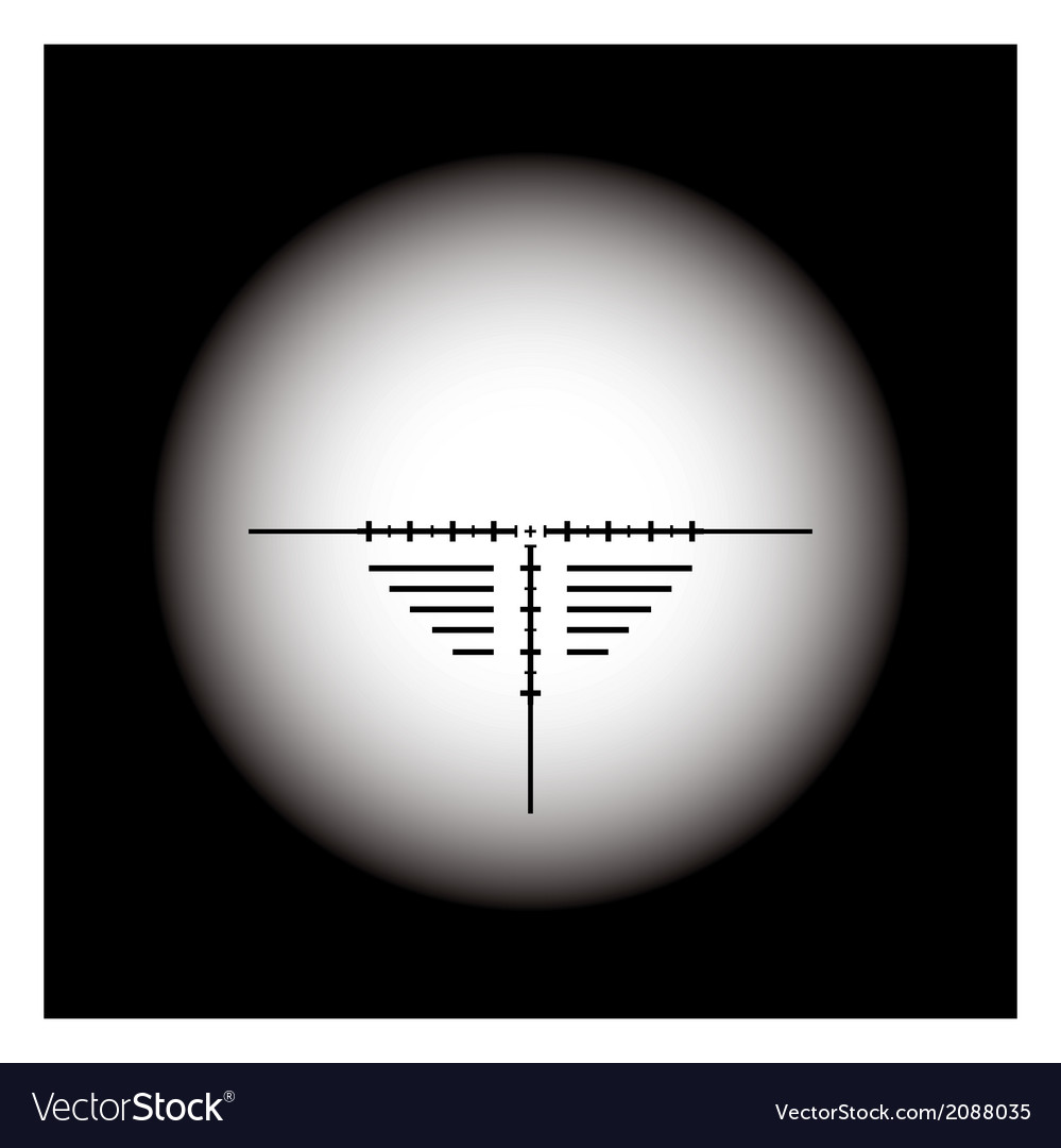 Rifle scope vector | Price: 1 Credit (USD $1)