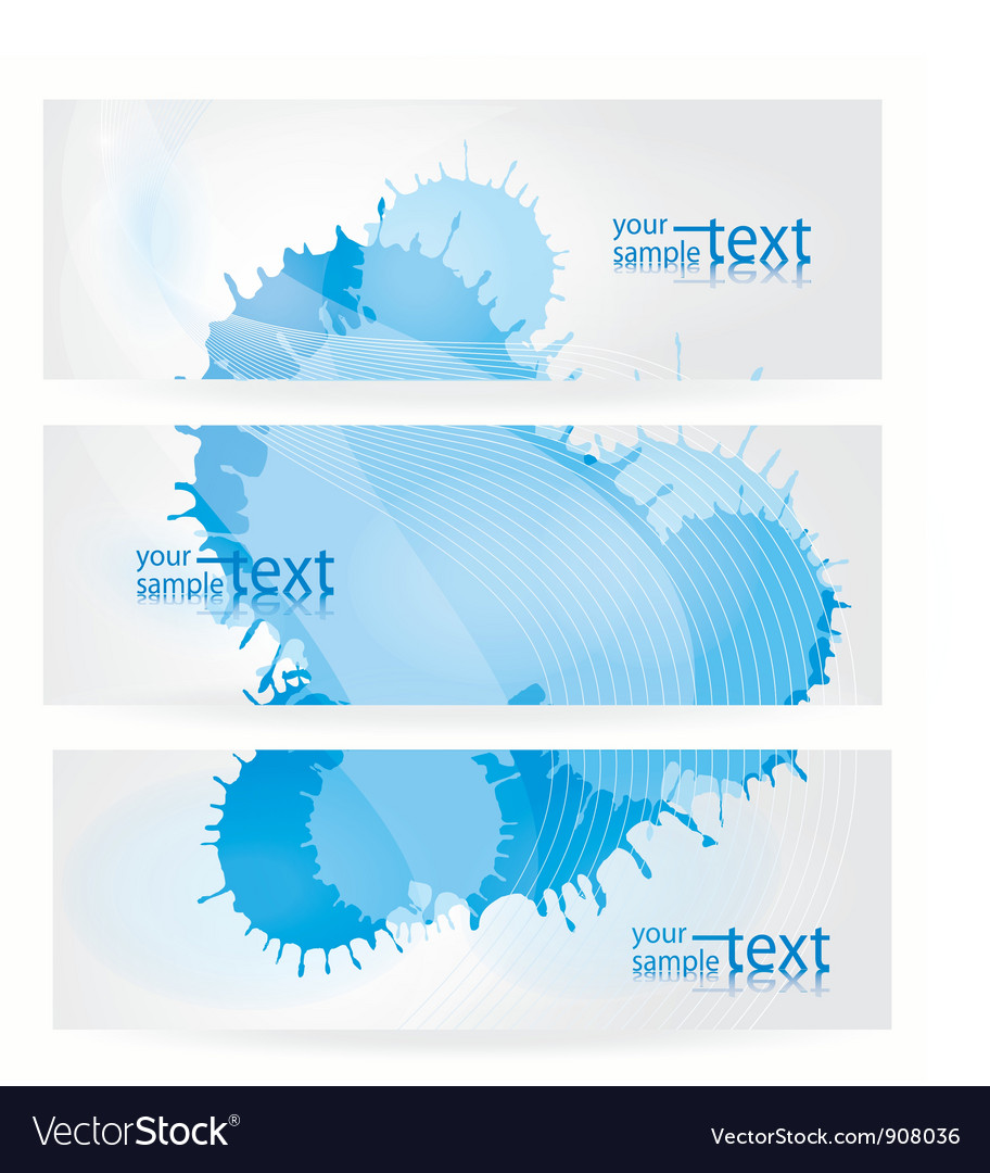Abstract blue elements vector | Price: 1 Credit (USD $1)