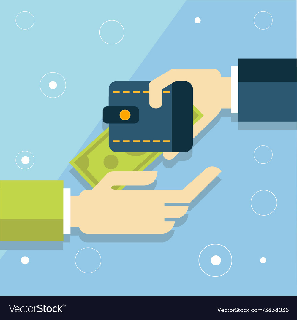 Flat design concept of mobile banking or vector | Price: 1 Credit (USD $1)