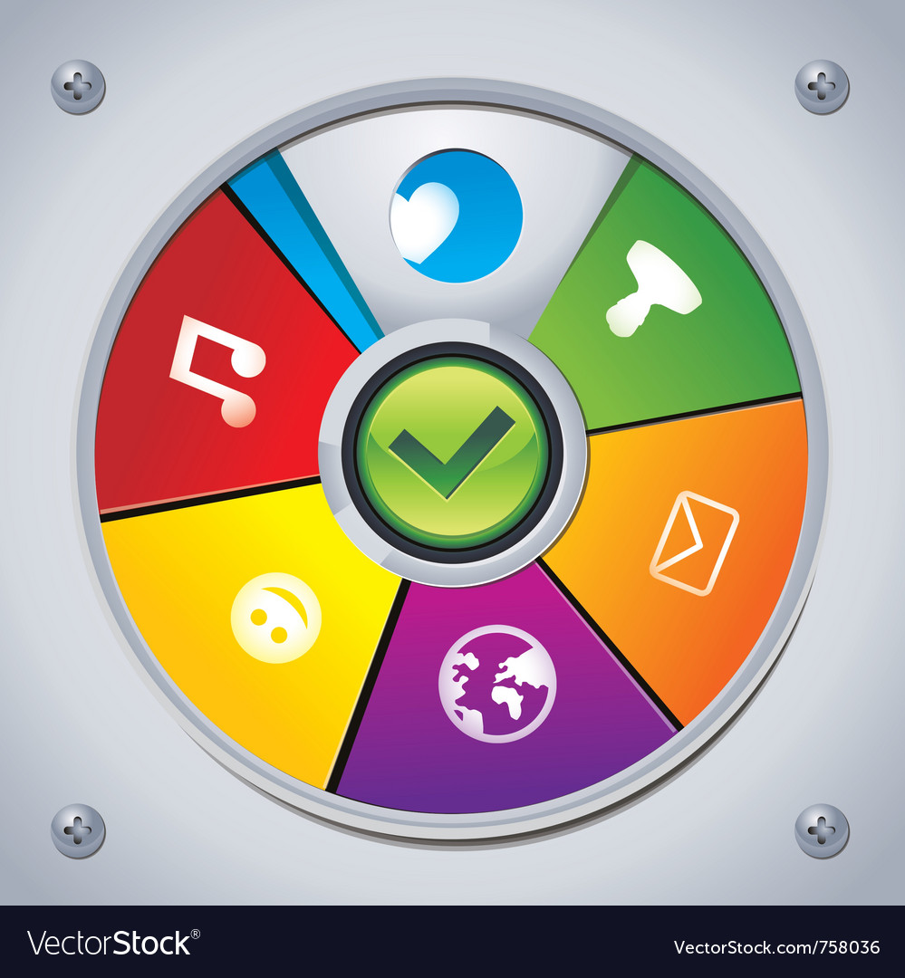 Interface - choose social media icon vector | Price: 1 Credit (USD $1)