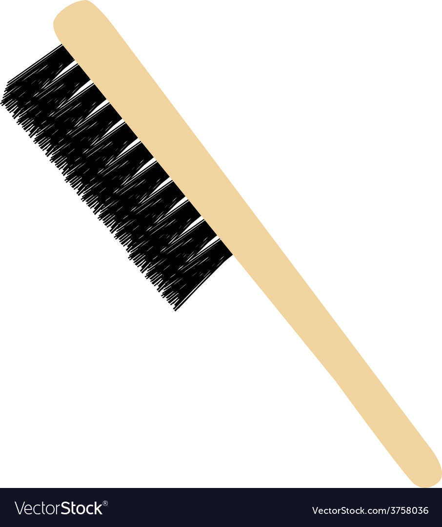 Little brush vector | Price: 1 Credit (USD $1)