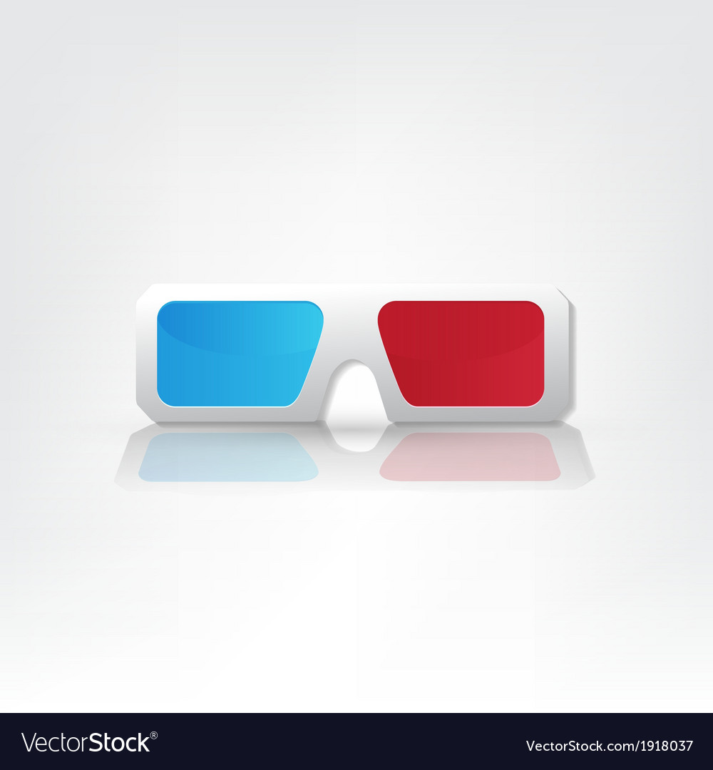 3d glasses icons vector   Price: 1 Credit (USD $1)
