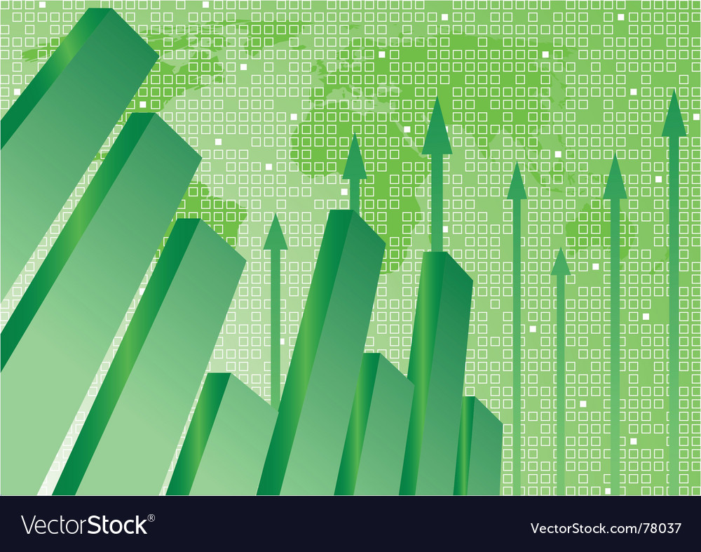 Graph and background vector | Price: 1 Credit (USD $1)