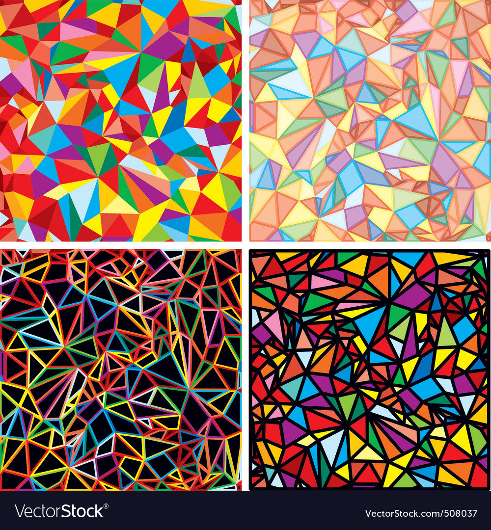 Mosaic abstraction vector | Price: 1 Credit (USD $1)