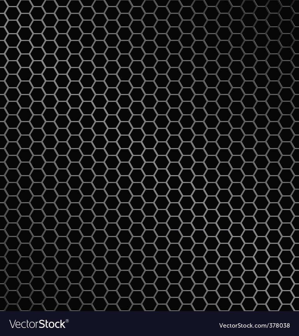 Hexagon metal background vector | Price: 1 Credit (USD $1)