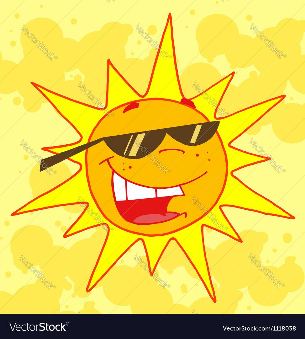 Hot sun vector | Price: 1 Credit (USD $1)