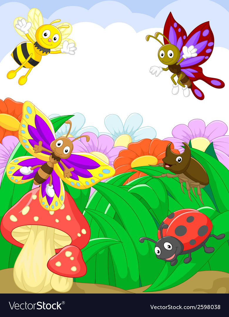 Small animals cartoon vector | Price: 3 Credit (USD $3)