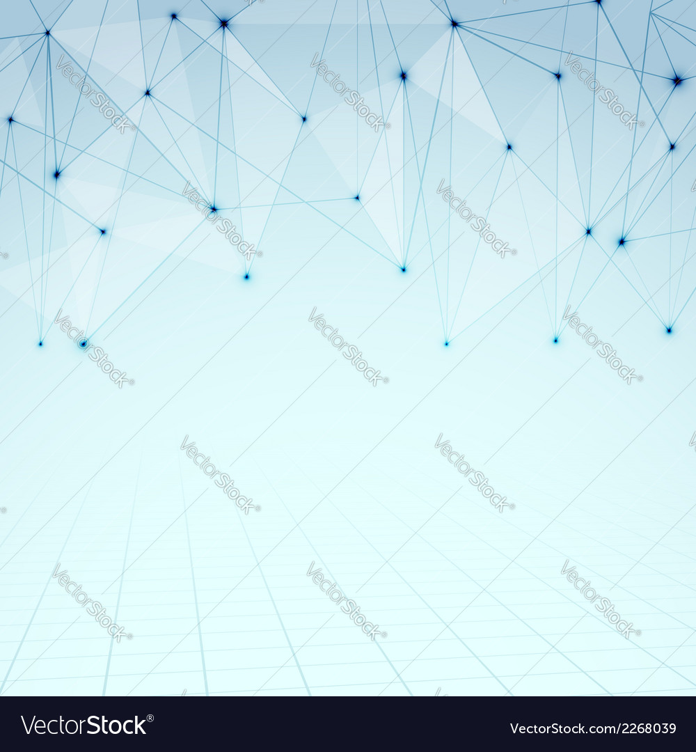 Abstract modernistic connections background vector | Price: 1 Credit (USD $1)