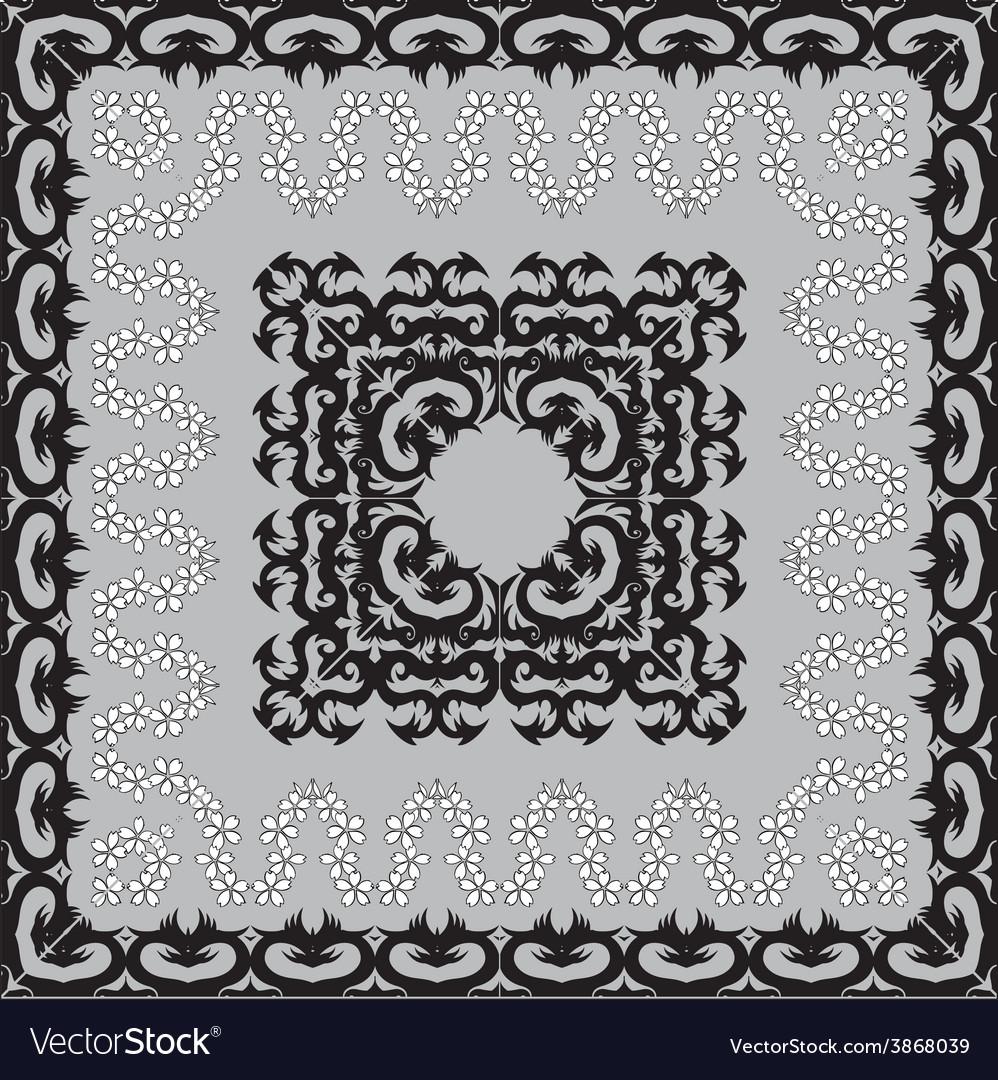 Black classic frames vector | Price: 1 Credit (USD $1)