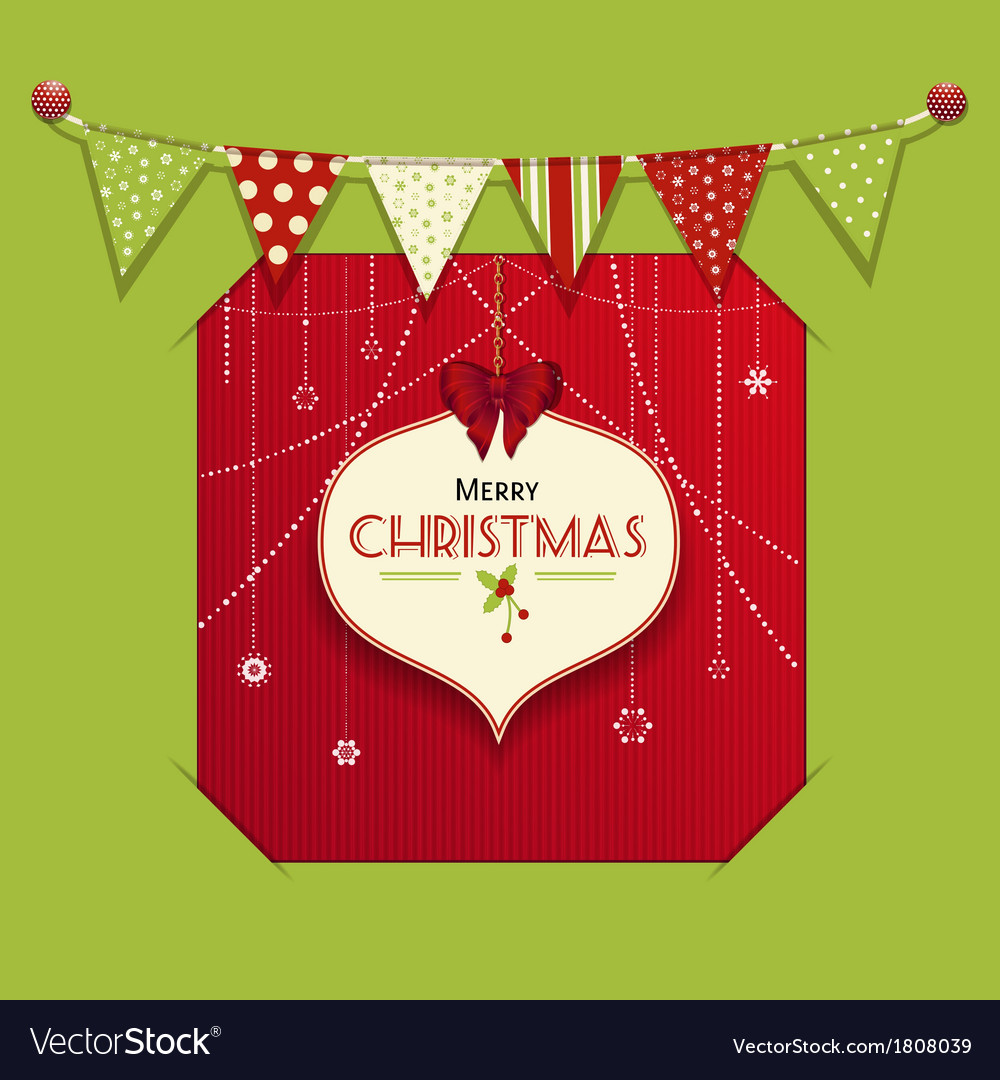 Christmas bauble lable insert vector | Price: 1 Credit (USD $1)