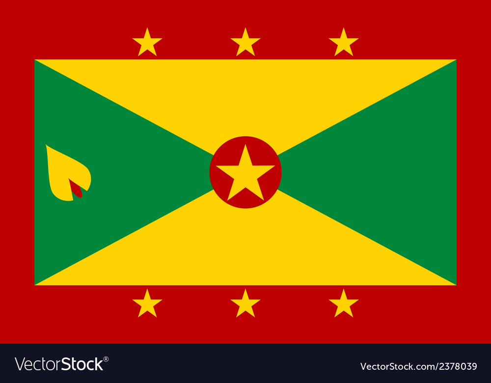 Flag of grenada vector | Price: 1 Credit (USD $1)