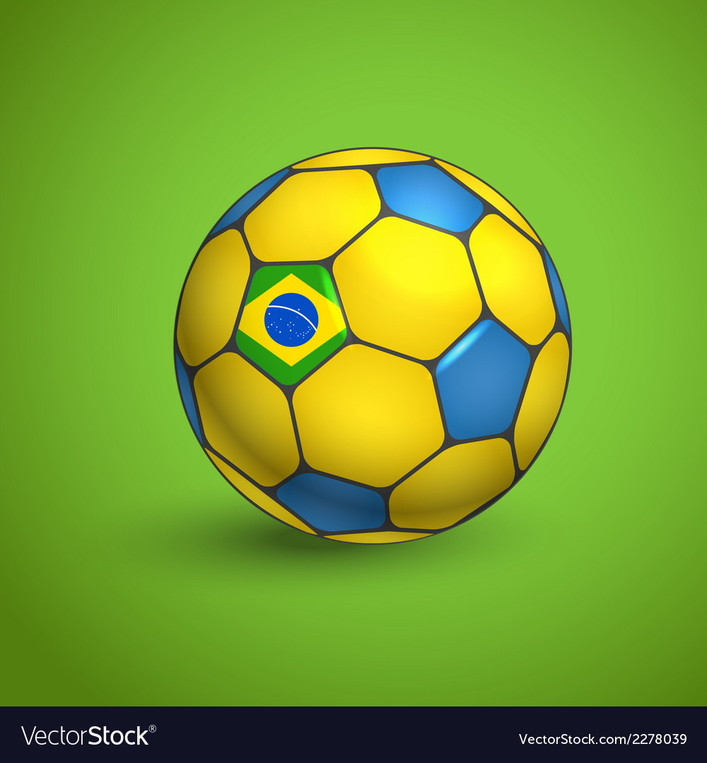 World football championship ball vector | Price: 1 Credit (USD $1)