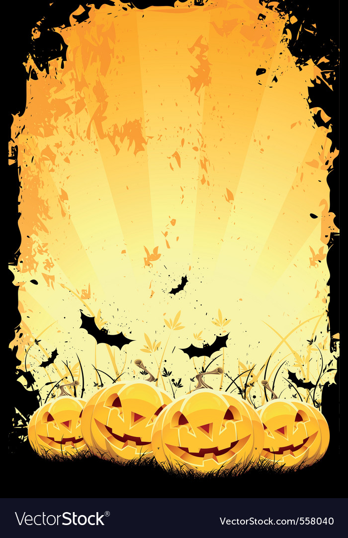 Grungy halloween vector | Price: 1 Credit (USD $1)